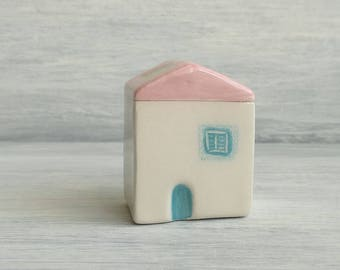 Miniature ceramic House