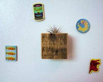 Reclaimed Wood Refrigerator Magnet
