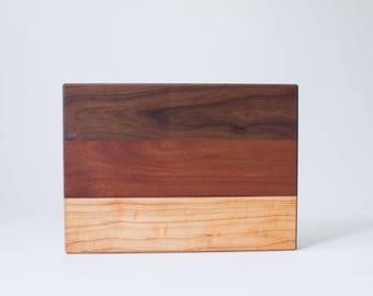 Walnut, Mahogany, Maple Wooden Board