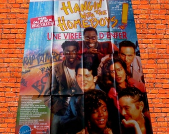 """1991 original poster """"Hangin with the homeboys"""""""