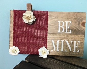 Be Mine Frame