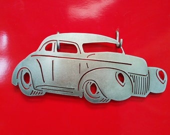 1939 Ford Coupe Metal Art