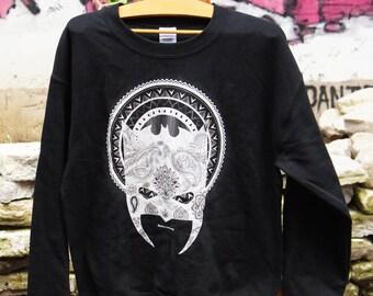 Batman - Mandala - Black Hoodie