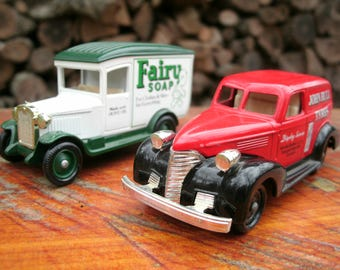 Days Gone Diecast Collectible Cars, Made in England, Vintage Toys