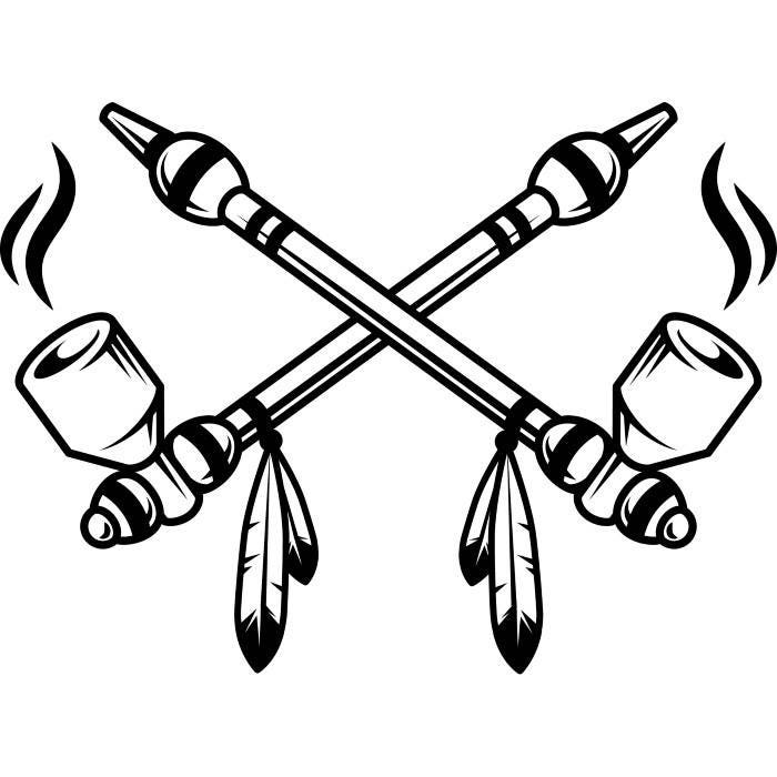 indian peace pipe 2 native american feather smoker smoking smoke tribe chief tribal tattoo logo. Black Bedroom Furniture Sets. Home Design Ideas