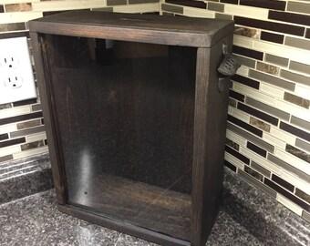 Beer Cap Box, Bottle Cap Box, Wine Cork Box, Shadow Box