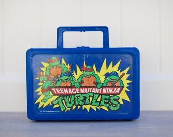 Vintage Ninja Turtles Pencil Box