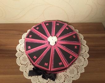 Box cake, cake, wedding