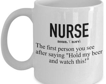 Funny Nurse Mug - Nurse Definition - Nurse Gift