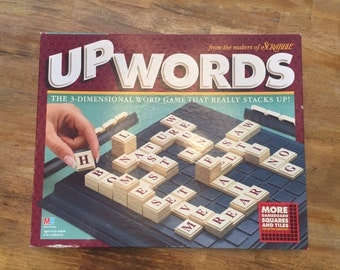 1997 Complete UpWards - The 3-dimensional world game that really stacks up! By MB