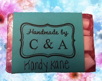Kandy Kane Soap