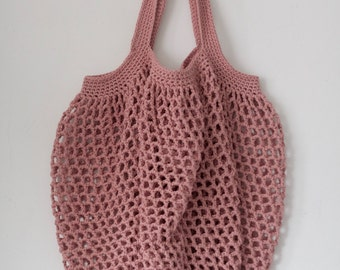 crochet string bag/crochet cotton market bag/eco-friendly/market bag/ crochet cotton