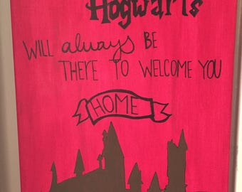 Hogwarts Canvas
