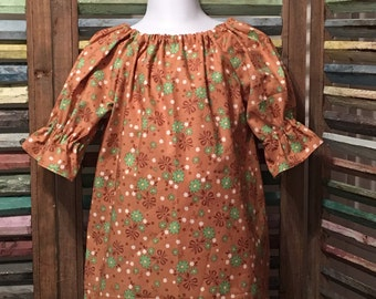 Girls dress, Girls peasant dress, Little girls dress, Toddler dress, Girls spring or summer dress, Boho girl dress, #138, #139, #140