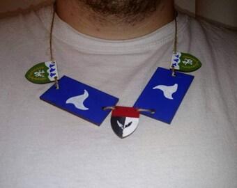 SCA, Renaissance, Ren Faire, inspired, Heraldic, custom, necklace