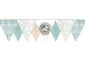 New Nest Baby Shower Bunting