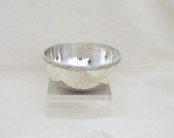 SALE!  HSDG Silver Plate Bowl - scrying - Pagan - witchcraft - wicca - offerings - vintage - decorative - gift