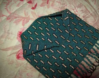 beautiful vintage purse entirely mini beads.