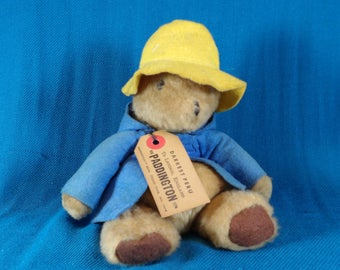Vintage Paddington Bear from Darkest Peru Made by Eden Toys in the 1970s