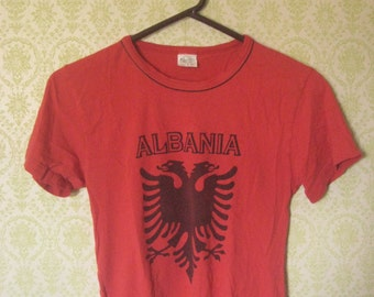 ALBANIAN FLAG SOUVENIR Tshirt