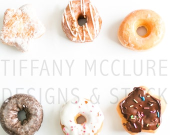 Donuts and More Donuts | Styled Stock Photography