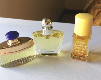 Vintage Mini lot, VS & Jovan Night Blooming Jasmine