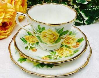 Royal Albert Tea rose trio