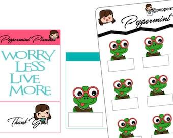 Cute little frog Reading tracker {#220}