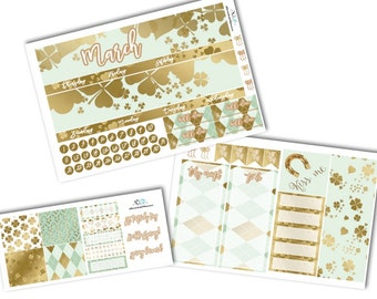 March Monthly Planner Stickers/March Monthly Planner Sticker Kit