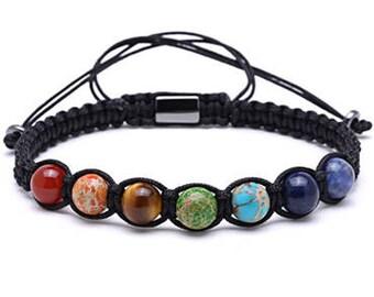 Macrame Braided Rope Bracelet for Men and Women