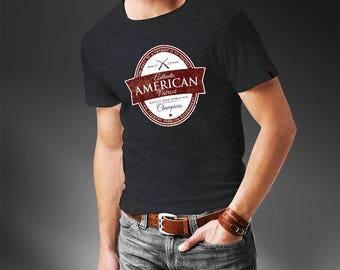 Authentic American Patriot T-Shirt - Patriotic Funny T-Shirt