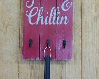 Grillin & Chillin Grill Tool Holder