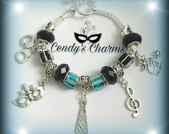 Bracelet beads Fifty shades