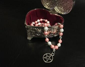 Pagan Prayer Beads - Aphrodite Prayer Beads
