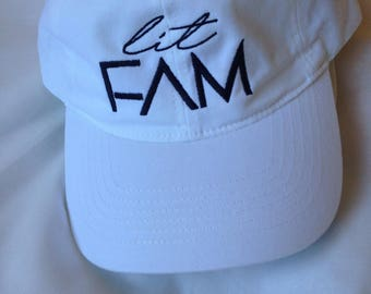 Custom Hat Front and Back Embroidery