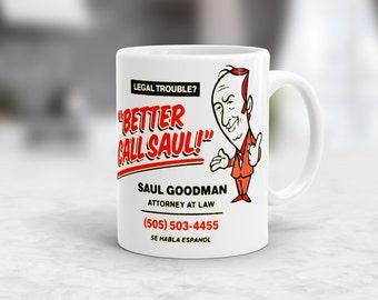 Better call Saul mug 11oz