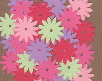 "50 - 2"" Flower Die Cuts for Paper Crafts    Set 1000"
