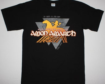 Amon Amarth With Oden On Our Side black t shirt