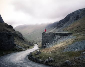 Honister Pass sees red