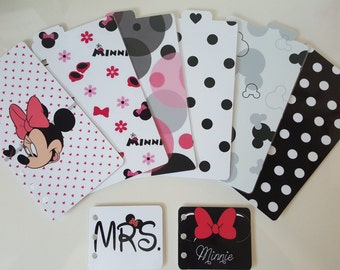 Register for Filofax personal size dividers set minnie
