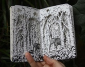 Elephant Forest Altered Book
