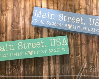 Main Street USA | Decor | Coordinates | Wall Decor