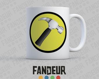 Captain Hammer Insignia Coffee / Tea Mug