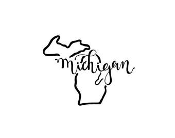 Michigan - printable download