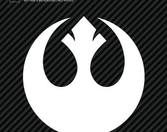 Star Wars Rebel Alliance Logo Sticker Decal (2)