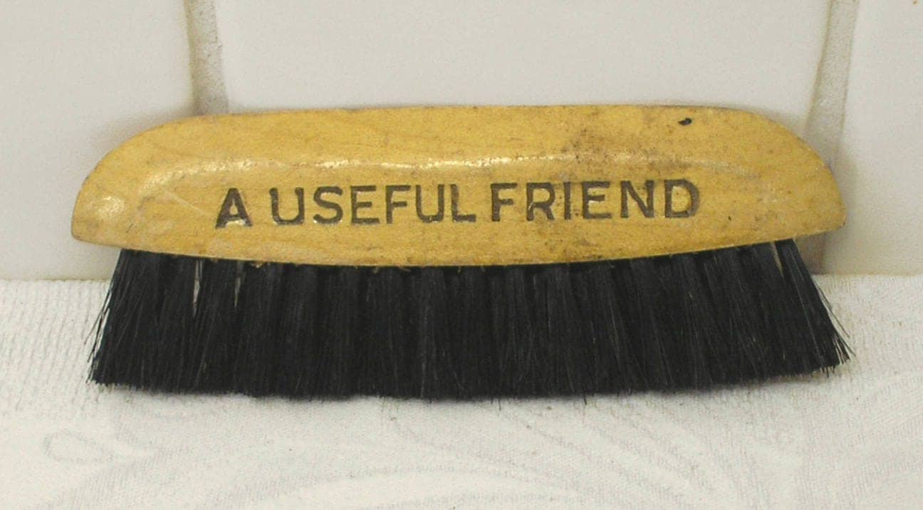 vintage clothes brush a useful friend cws for everything