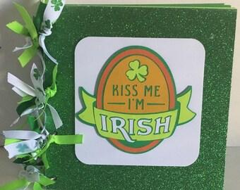 St Patrick's Day 8 x 8 Chipboard Premade Album