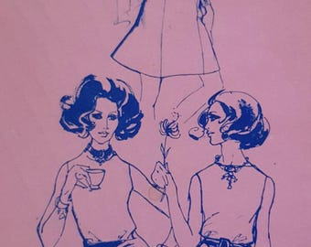 1967 Stretch & Sew 425 Misses Gored Skirts Sizes 30-46 Uncut Foldout Sewing Pattern ReTrO GrOOvy!