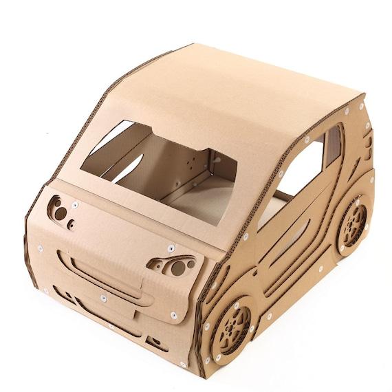 Intelligente Karton Katzenhaus, Katzenmöbel, Katzenspielzeug, Katzenbett,  Katzenhöhle, Haustier Haus, Karton Möbel, Katze Eigentumswohnung