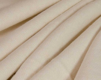 Pre-Activated ECO Hemp Fleece Silver Fabric with SILVADUR™ (Natural, sold by the yard)